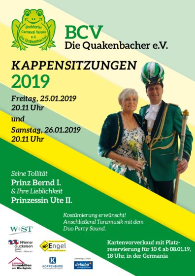 BCV_Plakat_Kappensitzungen_2019